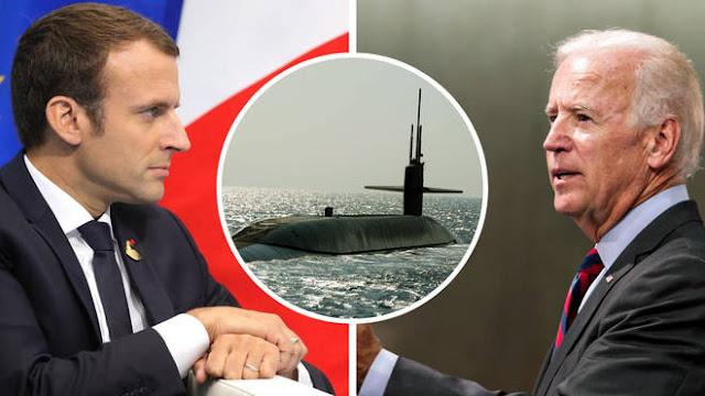 Marah Besar! Prancis Tarik Dubes dari AS-Australia Gegara Kapal Selam