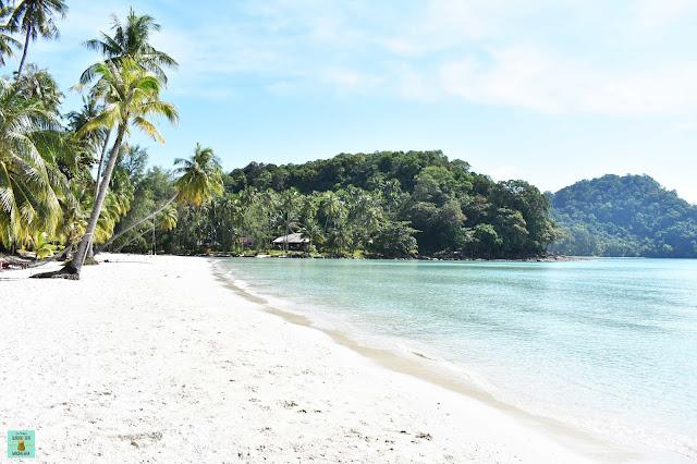 Isla de Koh Kood en Tailandia