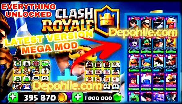 Clash Royale 3.4.2 Leo Mod Kilitsiz ve Elmas Hileli Son Sürüm