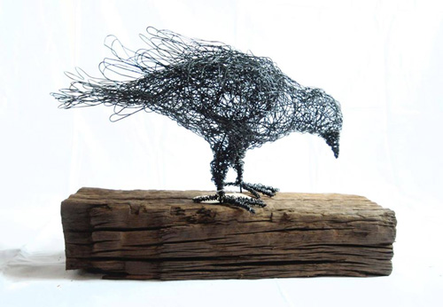 My Owl Barn Amazing Wire Sculptures