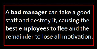 Poor management issues in Leadership by Richard Gourlay leadership consultant, #Dumfries and #Galloway, #Scotland