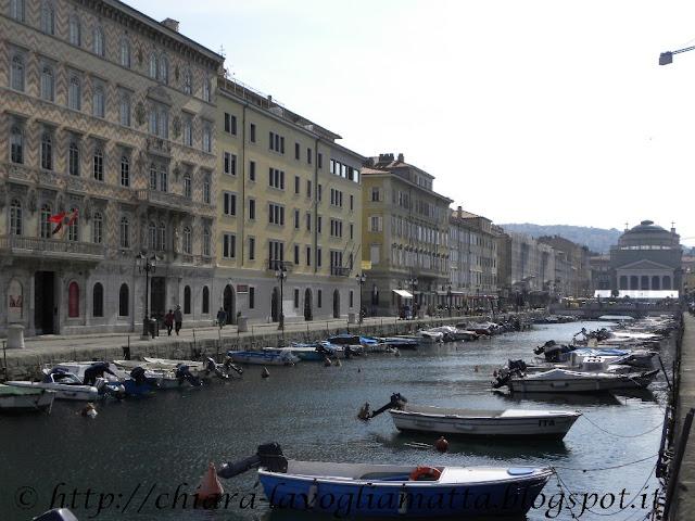 Canale di Ponterosso Trieste