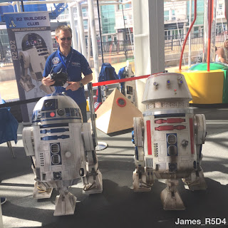 Techniquest, R2D2, R5D4, May the 4th be with you