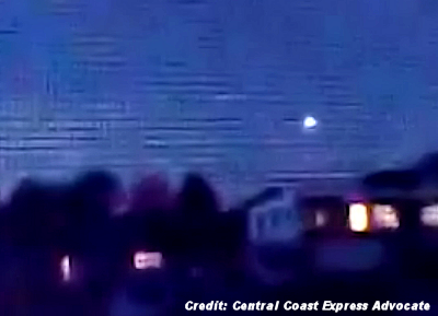 UFO Sphere Filmed Over Gorokan 3-19-15