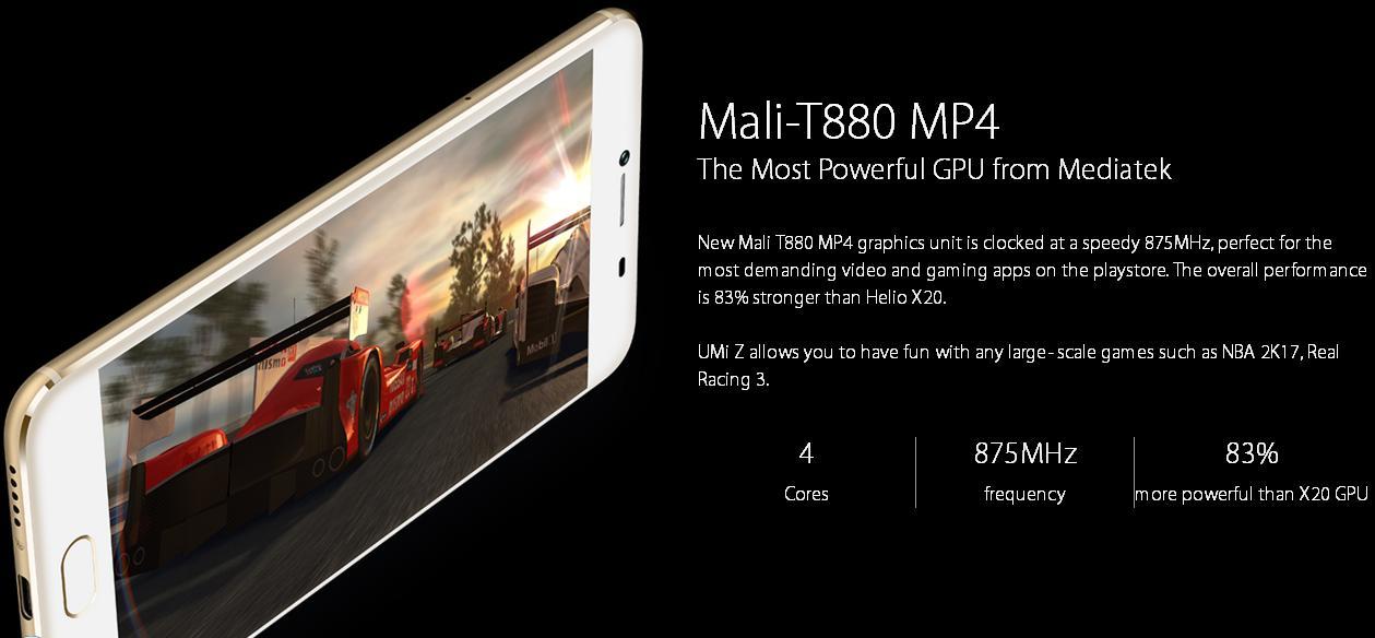 UMI Z, Helio X27 Deca Core 2 6Ghz, 5 5 Inch, Dual 3D Edge 4GB, RAM
