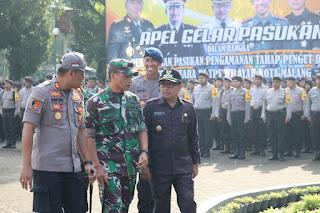 Danrem 083/Baladhika Jaya Yakinkan Pemilu Di Malang Raya Berjalan Aman