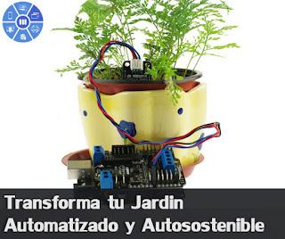 Automatiza tu jardin (Jardin Inteligente) Parte 1