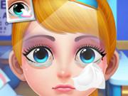 لعبة طبيب عيون