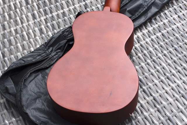 Diamond Head DU-150 Soprano Ukulele back