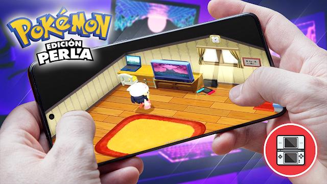 Pokémon: Edición Perla Para Teléfonos Android (ROM NDS)