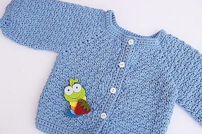 6 -Crochet Imagen Chaqueta a crochet con puntada de arroz muy fácil y sencillo por Majovel Crochet
