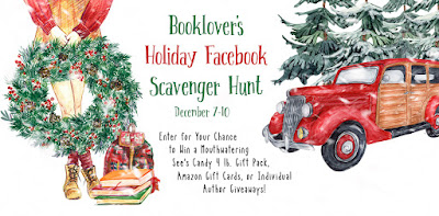 HOLIDAY SCAVENGER HUNT Dec 7-10. Awesome prizes and fun #bookwrapt #HolidayFBHunt