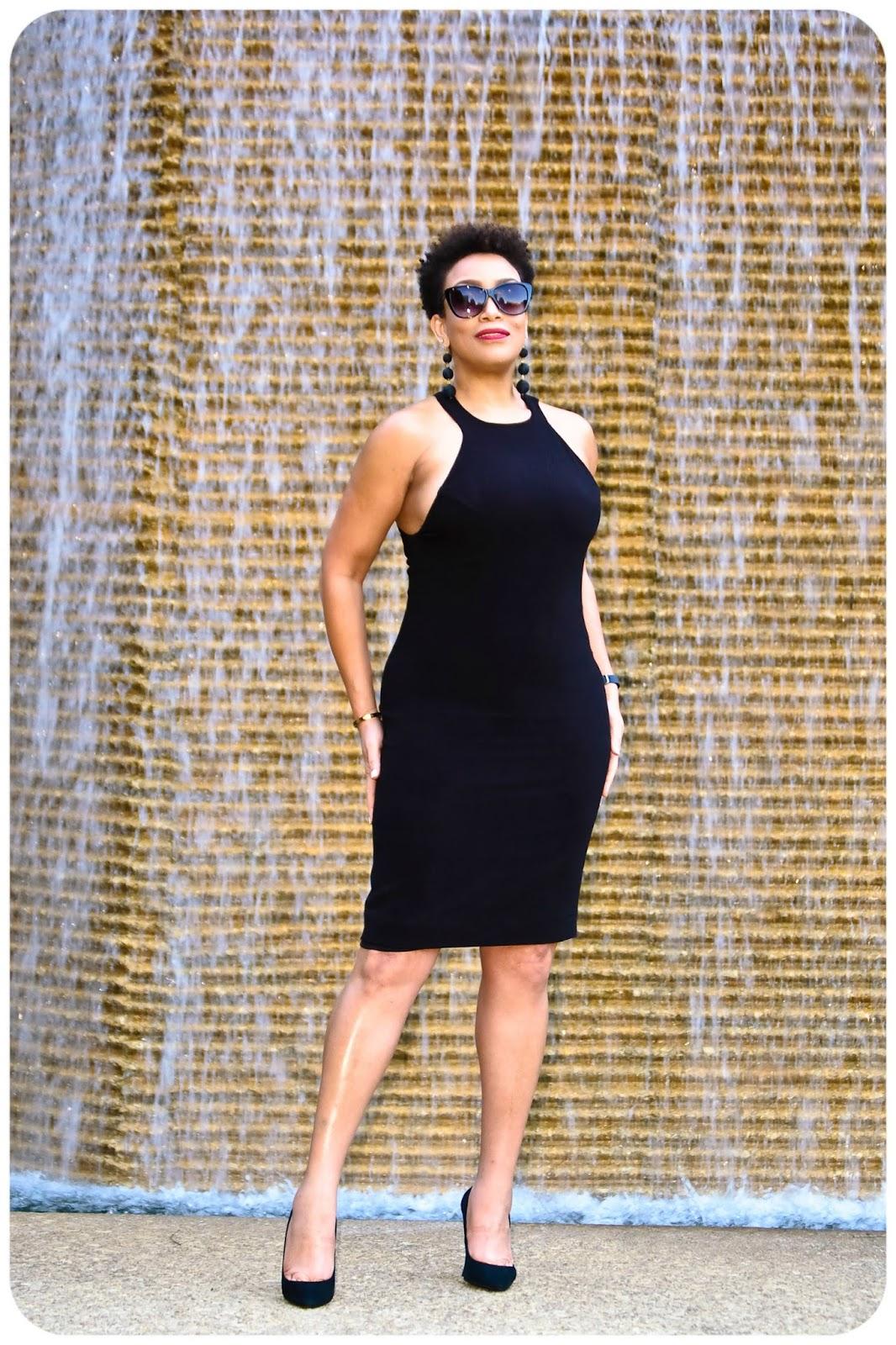 4 Ways To Be More Stylish & Fashionable - Black Dress - Erica Bunker DIY Style