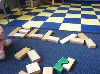 Spelling Name with Blocks (Brick by Brick)
