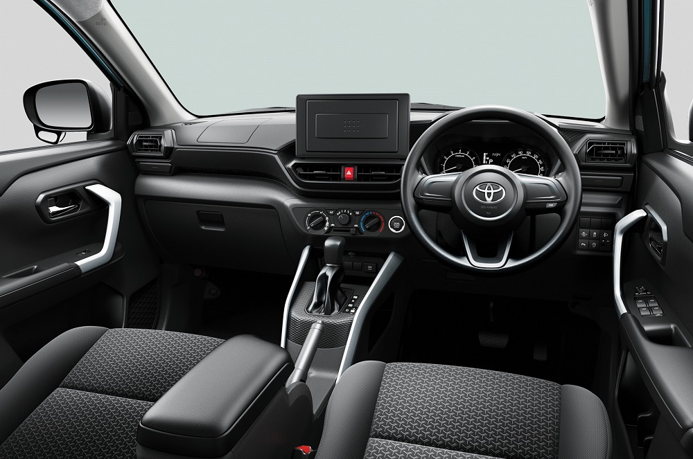 Toyota launches the new Raize in Japan