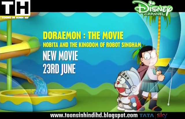 Doraemon The Movie Nobita And The Kingdom of Robot Singham Full Movie In HINDI [HD 720p] Download