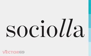 Logo Sociolla - Download Vector File SVG (Scalable Vector Graphics)