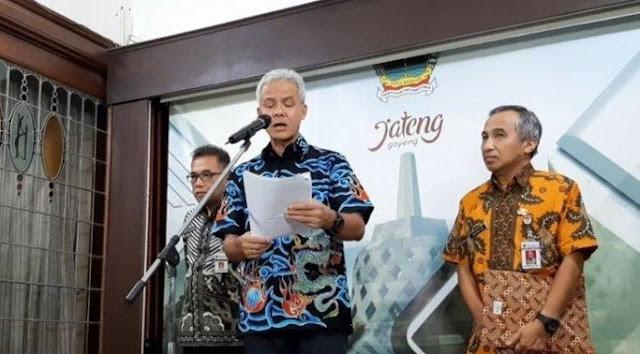 Gubernur Jawa Tengah nyatakan waspada pada virus corona