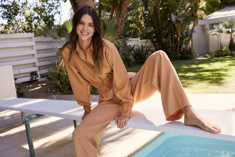 German fashion brand ABOUT YOU joins forces with supermodel Kendall Jenner on an exclusive capsule collection