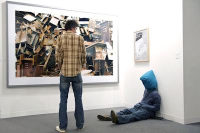 Expo de arte contemporáneo en el Art basel 2009.