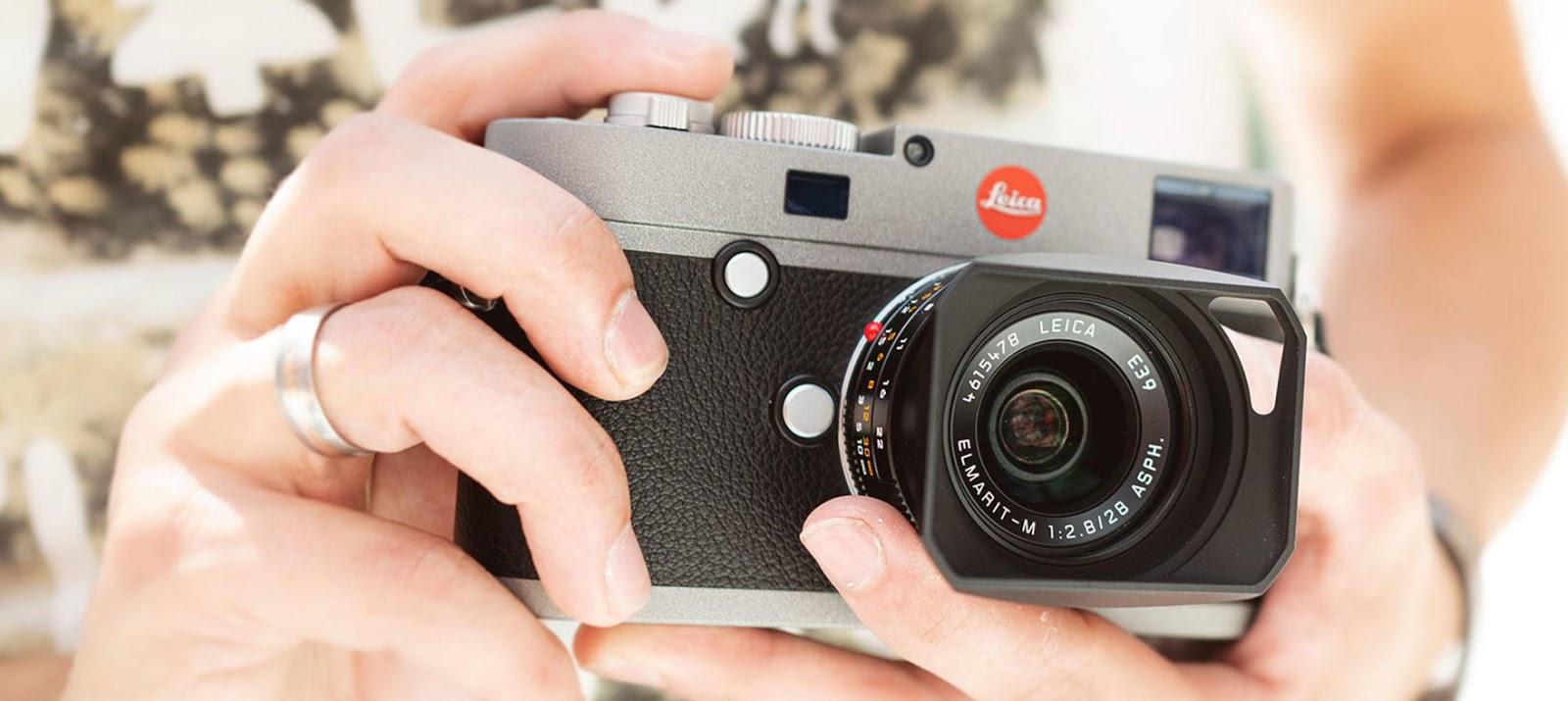 Leica M-E (Typ 240) в руках