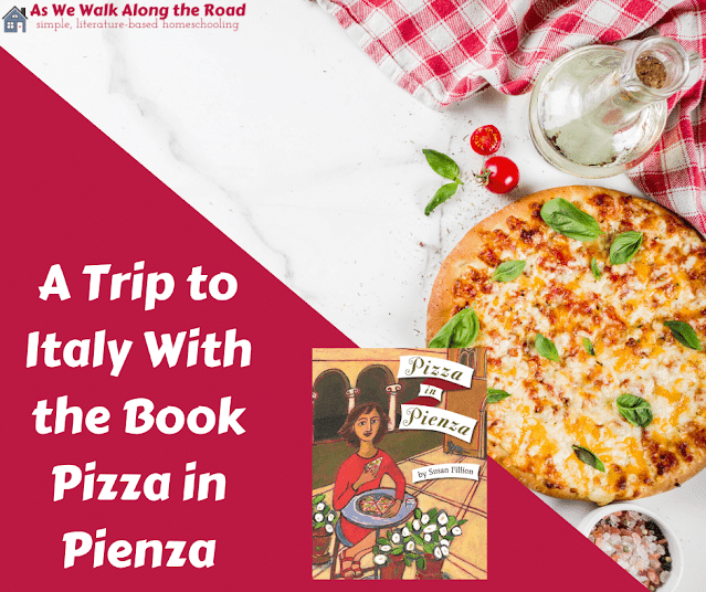 Literature-based geography with Pizza in Pienza