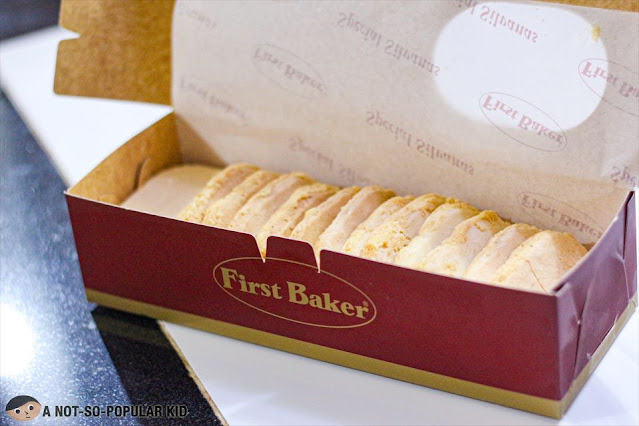 First Baker's Silvanas -- Filipino Pastry/Dessert
