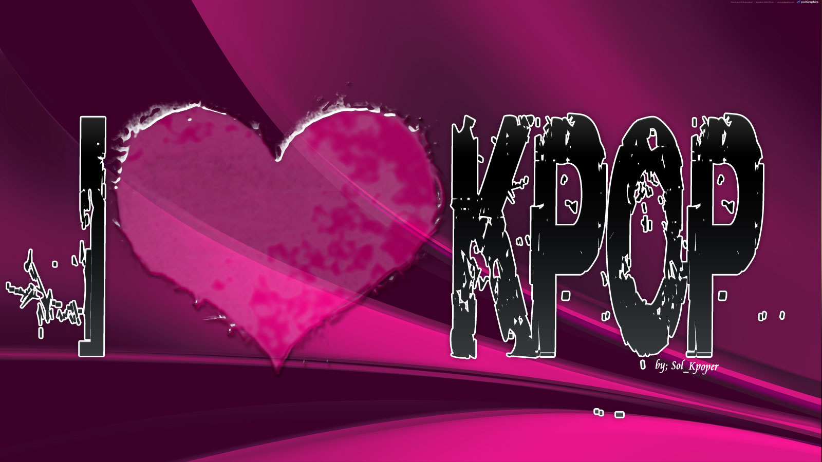 Images Of I Love Kpop Wallpaper Spacehero