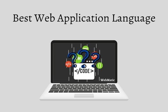 Best Web Application Language