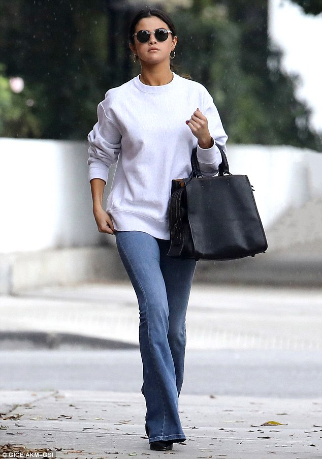 Selena Gomez is casual chic out and about in LA