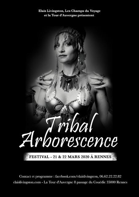 Tribal, Fusion, ATS, festival, danse, Elaïs Livingston, Tour d'Auvergne, butoh, buto,