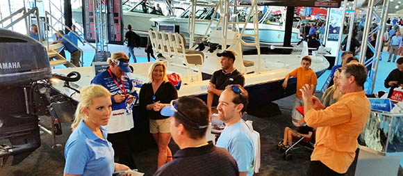 Skeeter Boats Miami Boat Show Booth