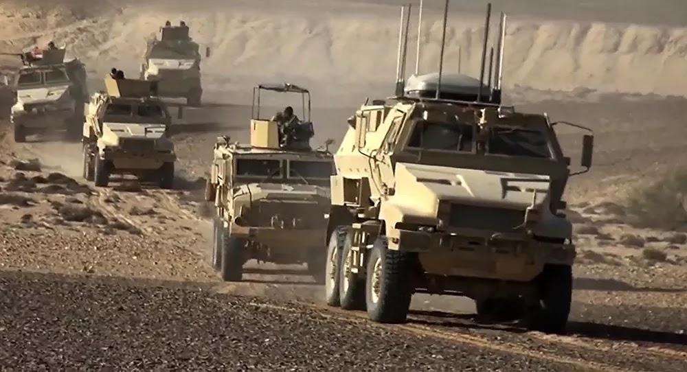 الجيش المصري يخوض تدريبا على التحضير للمعركة... صور