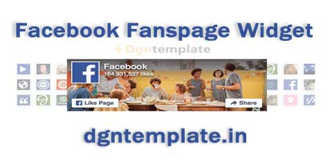 How to Install Facebook Fanspage Widget on Blogger