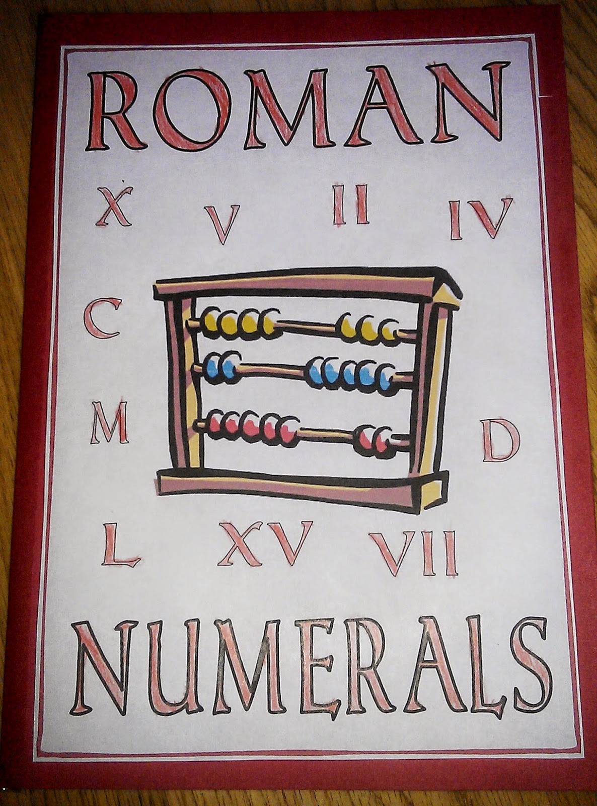 Iman S Home School Roman Numerals Lapbook Amp Worksheets