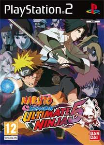Naruto Shippuden Ultimate Ninja 5 Latino Ps2 ISO MG-MF