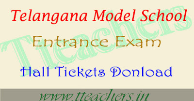 TS model school hall tickets 2018-2019 download