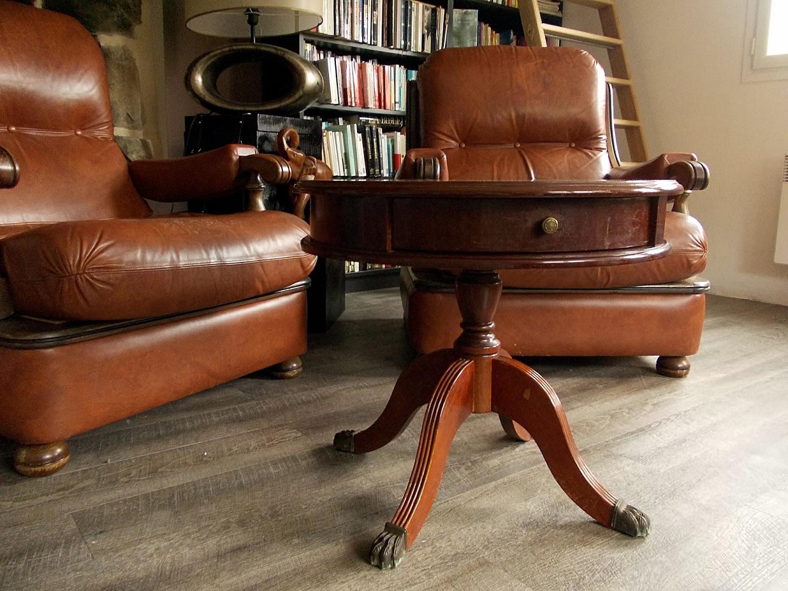 La Maison Du Bonheur Une Petite Table Basse Façon Guéridon