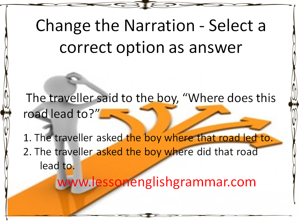 English Learning Made Easy Simple Narration Change From