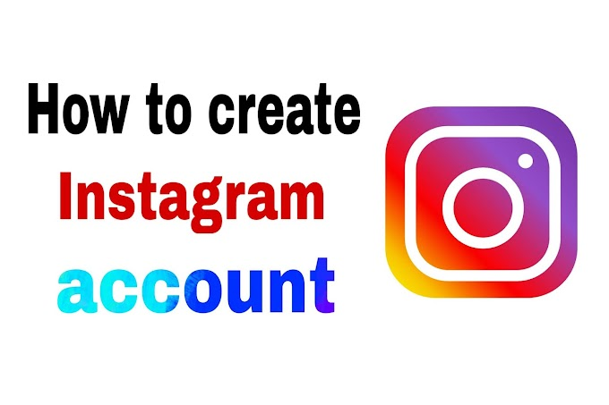 Instagram create a new account