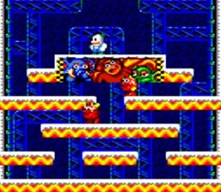 Nuevo vídeo de la conversión no oficial de Snow Bros a Amstrad CPC