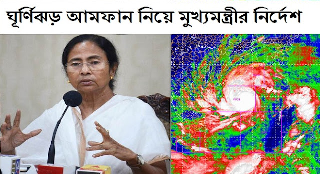 Strict instructions of the Chief Minister regarding cyclone Amphan