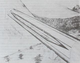 проект сверхзвукового поезда в разреженной водной среде