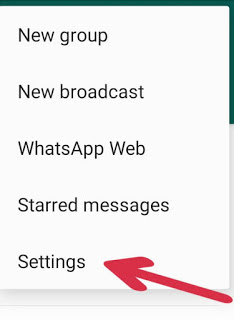 Whatsapp में fingerprint lock लगाए