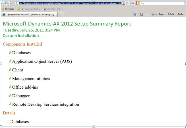 Dilips Blog On Dynamics AX And 365 For Operations