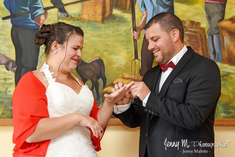 échange des alliances mariage cérémonie civile mairie