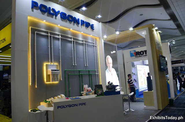 Polygon Pipe Exhibit Booth