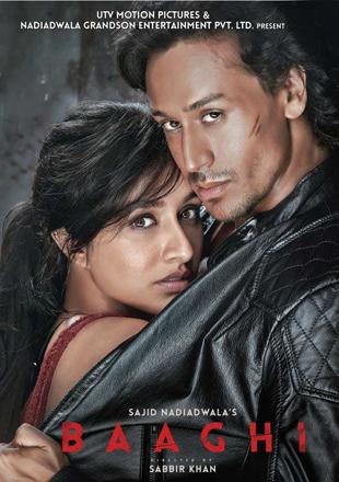 Baaghi 2016 Full Hindi Movie Download BRRip 720p