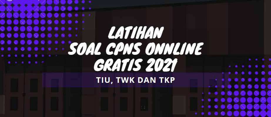 gambar latihan soal cpns online gratis 2021