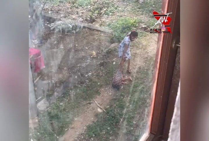 Viral Seorang Ibu di Aceh Seret Balitanya Hingga 15 Meter